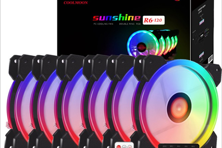 Fan LED - RGB (Bộ 5 Fan)